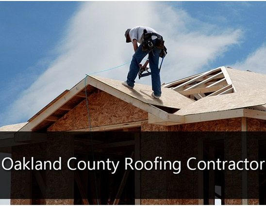 Why is it important to check the reviews on the Oakland county Michigan roofing companies?