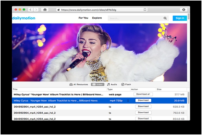 Dailymotion videos on their Mac