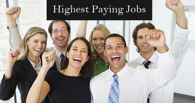 Getting a High Paying Job