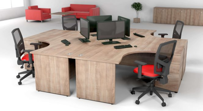 Lighten up the mood with stylish office furniture