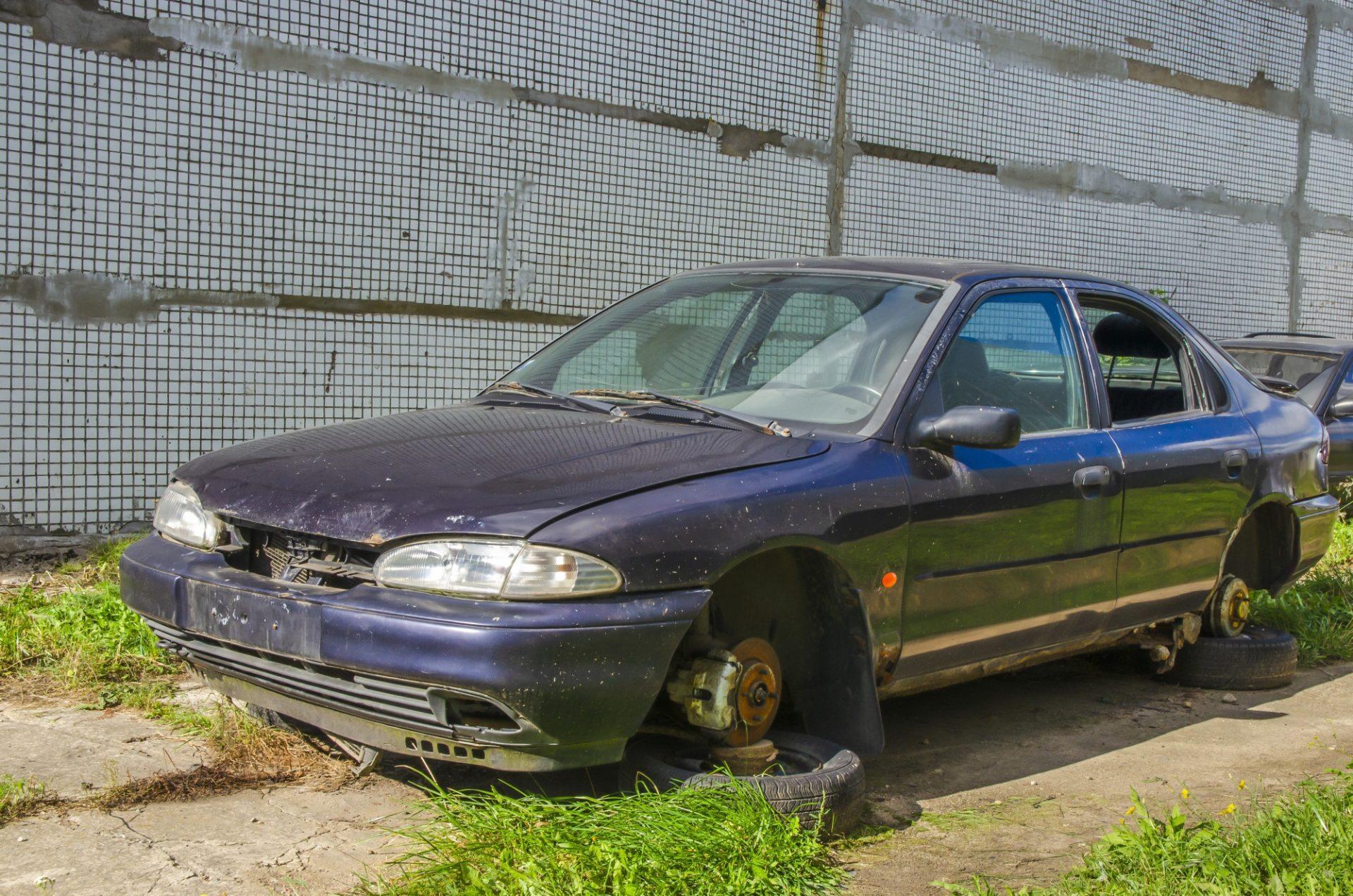 sell a broken car