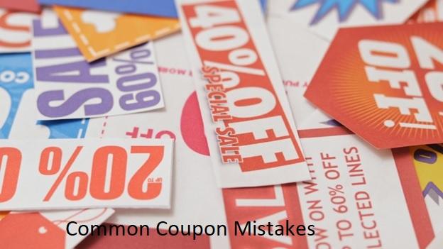 Avoid Common Coupon MistakesCommon Coupon Mistakes